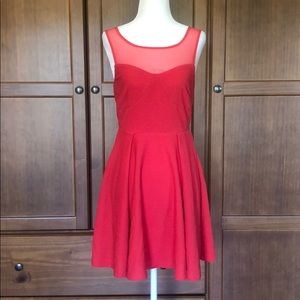 Perfect Red Dress for Summer Lunch w/the girls
